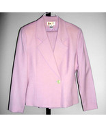 Ladies Lavender Pant Suit by Saville Size 8 - Gorgeous - $39.99