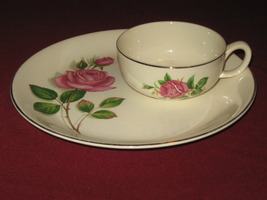 "VTG Swinnertons Staffordshire Made in England ""Nestor Vellum"" Plate & Cup - $24.99"