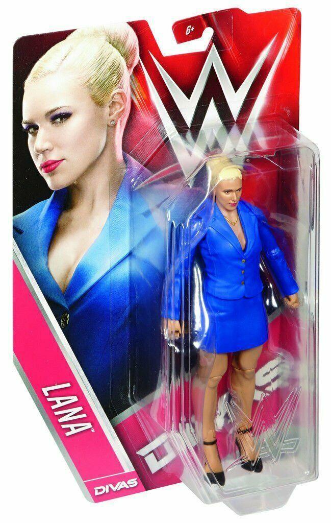 Lana WWE Divas Wrestling Action Figure by Mattel New in Package 2015 - $44.54