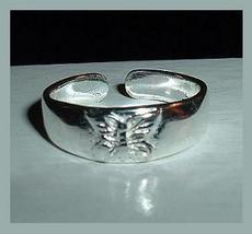 Sterling Silver Butterfly Design Toe Ring  - $29.99