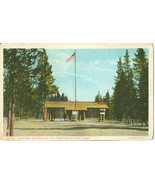 Western Entrance of Yellowstone National Park, early 1900s unused Postcard  - $3.50