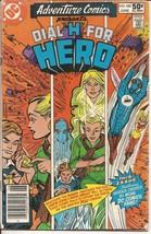 DC Adventure Comics #482 Dial H For Hero Silversmith Action Adventure - $1.25