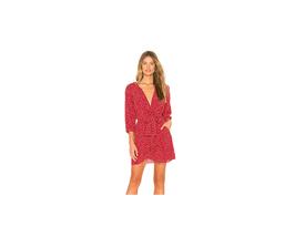 Free People Clara Tunic Mini Dress Red Size M NWT - $68.31