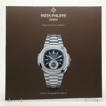 "30x29"" Patek Philippe Geneve Nautilus Chronograph Watch Poster Advertising Sign image 2"
