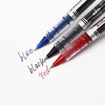 XUES® Needle Straight Liquid Gel Pen 0.5mm 3 Color Inks Office Carbon Water - $1.97