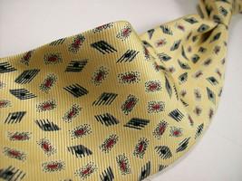 ROBERT TALBOTT  Yellow  MULTI  Abstract   Mens  SILK Necktie  s 9-317 - $15.99