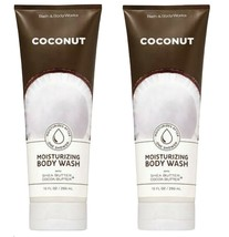 2 Bottles Bath & Body Works COCONUT Moisturizing Body Wash 10 fl.oz - $27.64