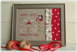 Etoile De La Ferme cross stitch chart Madame Chantilly - $11.70
