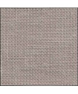 25ct Nougat (stoney grey) Dublin linen 36x55 cross stitch fabric Zweigart - $57.60