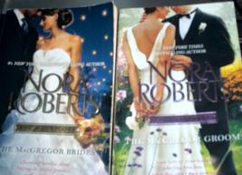 Two Nora Roberts favorites:The MacGregor Brides and The MacGregor Grooms... - $7.99