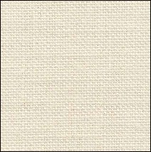 28ct Antique White with Silver linen 17x19 cross stitch fabric Fabric Flair - $13.50