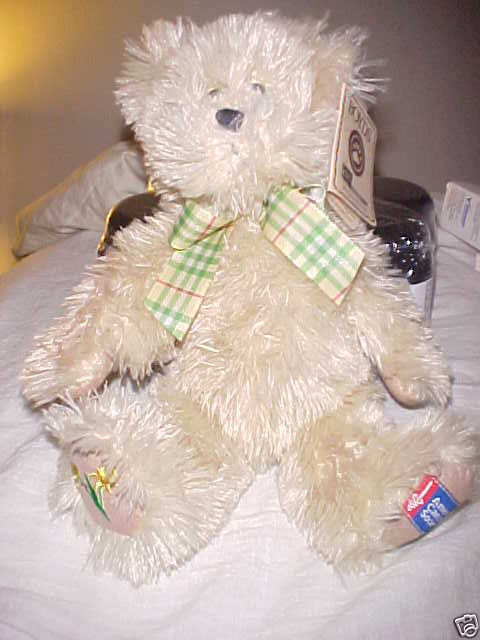 BOYDS BEAR AMERICAN CANCER SOCIETY WITH TAGS