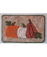 Autumn's Prize Punchneedle chart embroidery Thr... - $10.80