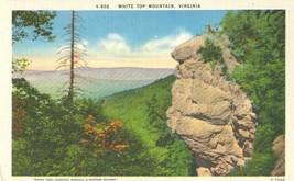 White Top Mountain, Virginia, unused linen Postcard  - $4.99