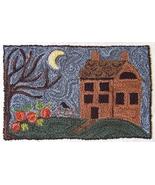 Still Of The Night Punchneedle chart embroidery Three Sheep Studio - $10.80