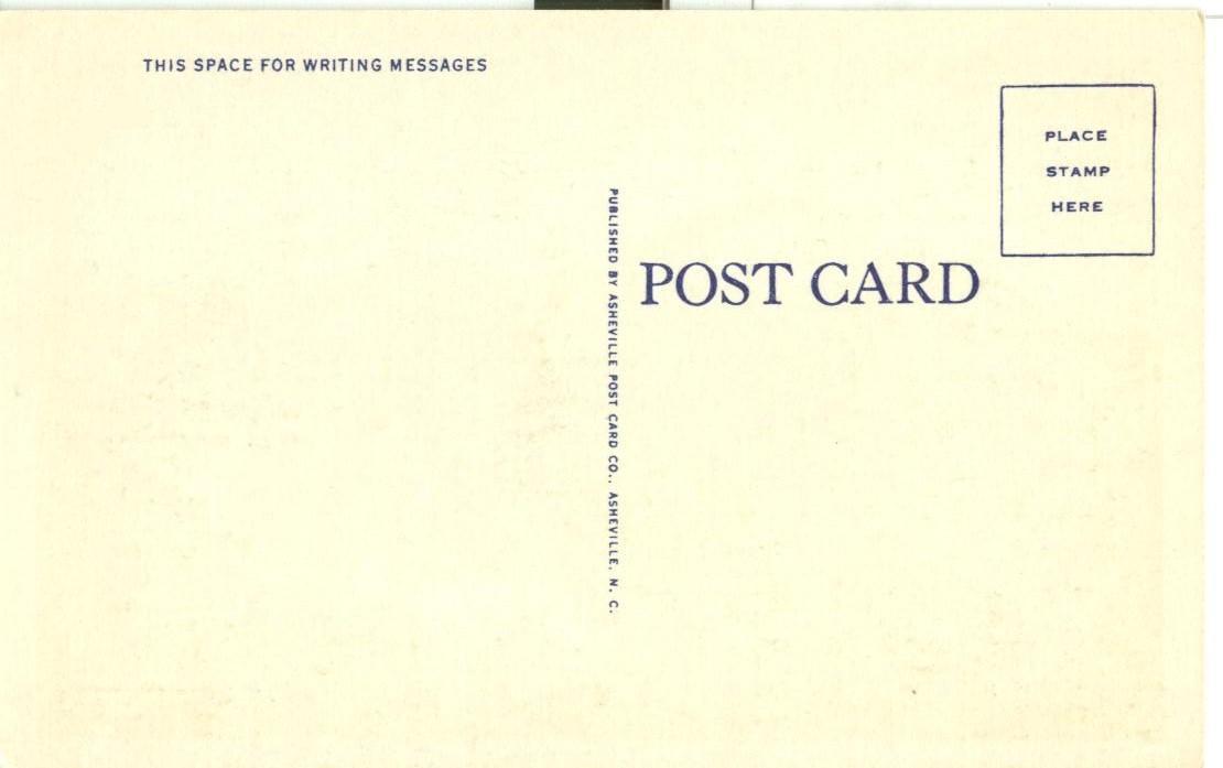 White Top Mountain, Virginia, unused linen Postcard