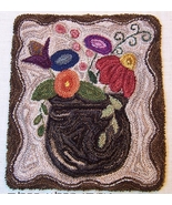 Meadow Flowers Punchneedle chart embroidery Thr... - $10.80