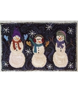 The Night Shift Punchneedle chart snowman embro... - $10.80