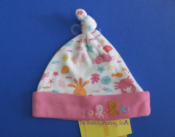 NWT Gymboree UNDER THE SEA Cap Hat Sz up to 7 lbs