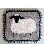 Sheep Beginner Punchneedle chart embroidery Three Sheep Studio - $13.50