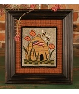 Glory Bee Punchneedle chart embroidery Threads That Bind - $14.40