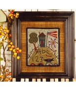 American Roots Punchneedle chart embroidery Threads That Bind - $14.40