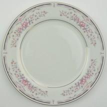 China Pearl Donna Pattern Dinner Plate Fine Dinnerware Mauve Violet Flor... - $10.39