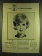 1966 Clairol Condition Ad - Do you have to hide your hair to look prettier? - $14.99