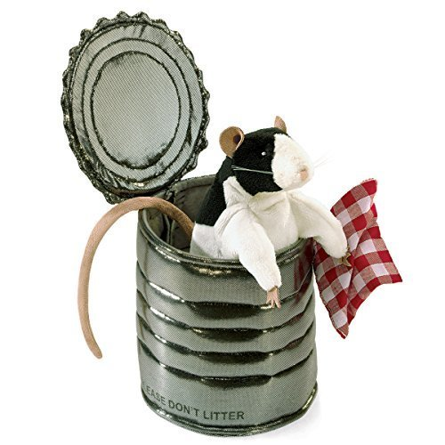 Primary image for Folkmanis Rat In Tin Can Hand Puppet