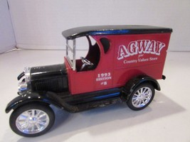 "DIECAST ERTL 1923 CHEVROLET DELIVERY VAN BANK AGWAY 1993 EDITION #8  7""L... - $9.95"