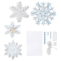 Martha Stewart Crafts® Snowflake Garland: 99 pieces w - $9.99