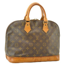 LOUIS VUITTON Monogram Alma Hand Bag M51130 LV Auth th019 TEAR - $202.23