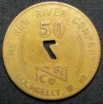 New River Company Lochgelly, West Virginia 50 Cents Trade Token - $7.84