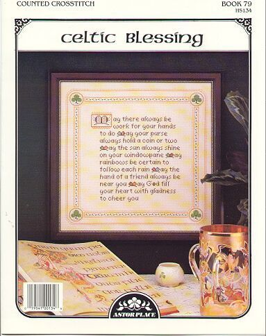 Celtic Blessing~Counted Cross Stitch Pattern