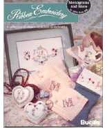 Monograms and More~Silk Ribbon Embroidery Book - $6.00