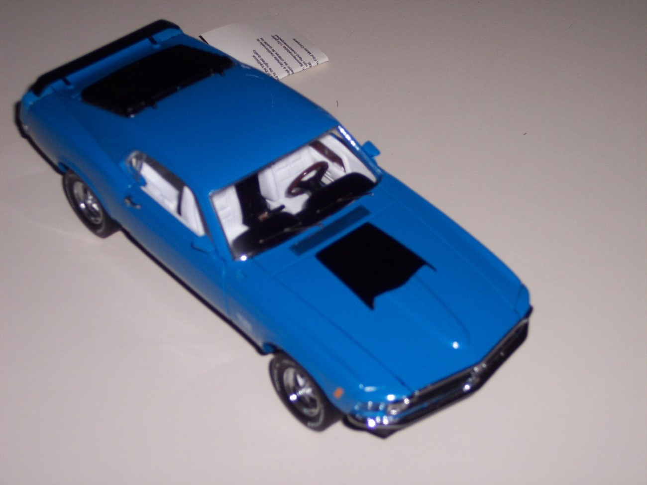 Franklin Mint 1970 Ford Mustang Boss Diecast Car
