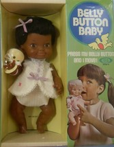 "Vintage AA BELLY BUTTON BABY 8 1//2"" DOLL Ideal 1970 NRFB..exc Cello - $68.31"