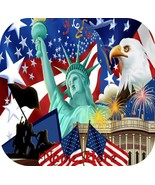 Patriotic Personalized Mousepad Mouse Pad Any Name Can Be Used D788 - $11.88