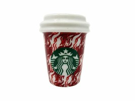 New HTF Starbucks 2018 Hounds tooth Holiday Ornament - $17.81