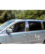 Grand Caravan Town & Country Stainless Steel Chrome Window Package 2008-... - $197.99