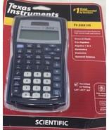 Texas Instruments TI-30X IIS 2-Line Scientific Calculator Black with Blu... - $31.67