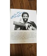 1977 WALLY CHAMBERS SIGNED AUTO MACK AWARD 8X10 PRESS PHOTO CHICAGO BEAR... - $74.99