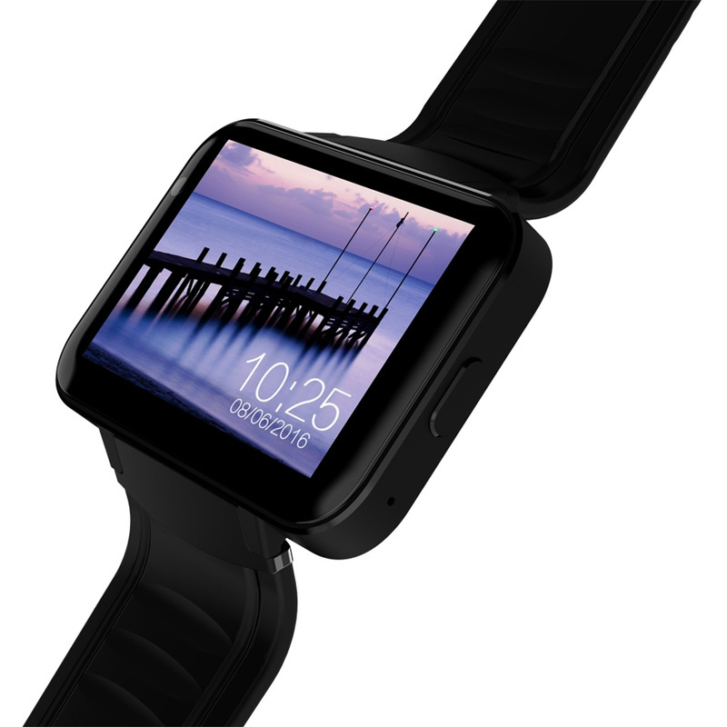 DM98 Watch Phone, Android, Bluetooth 4.0, WiFi, Black