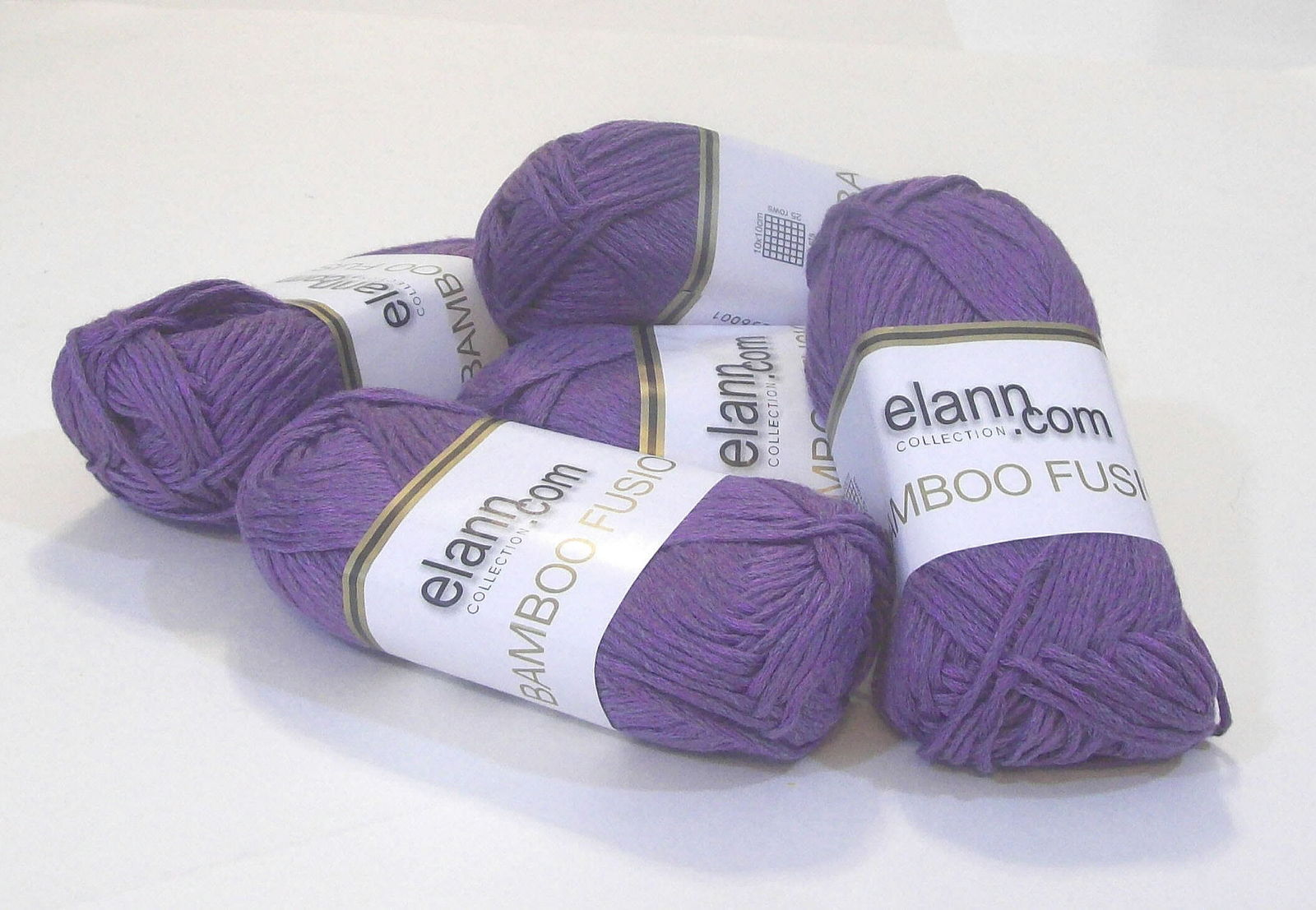 Elann Collection, Purple Color, Bamboo Fusion Yarn, Bamboo-Cotton-Acrylic Blend
