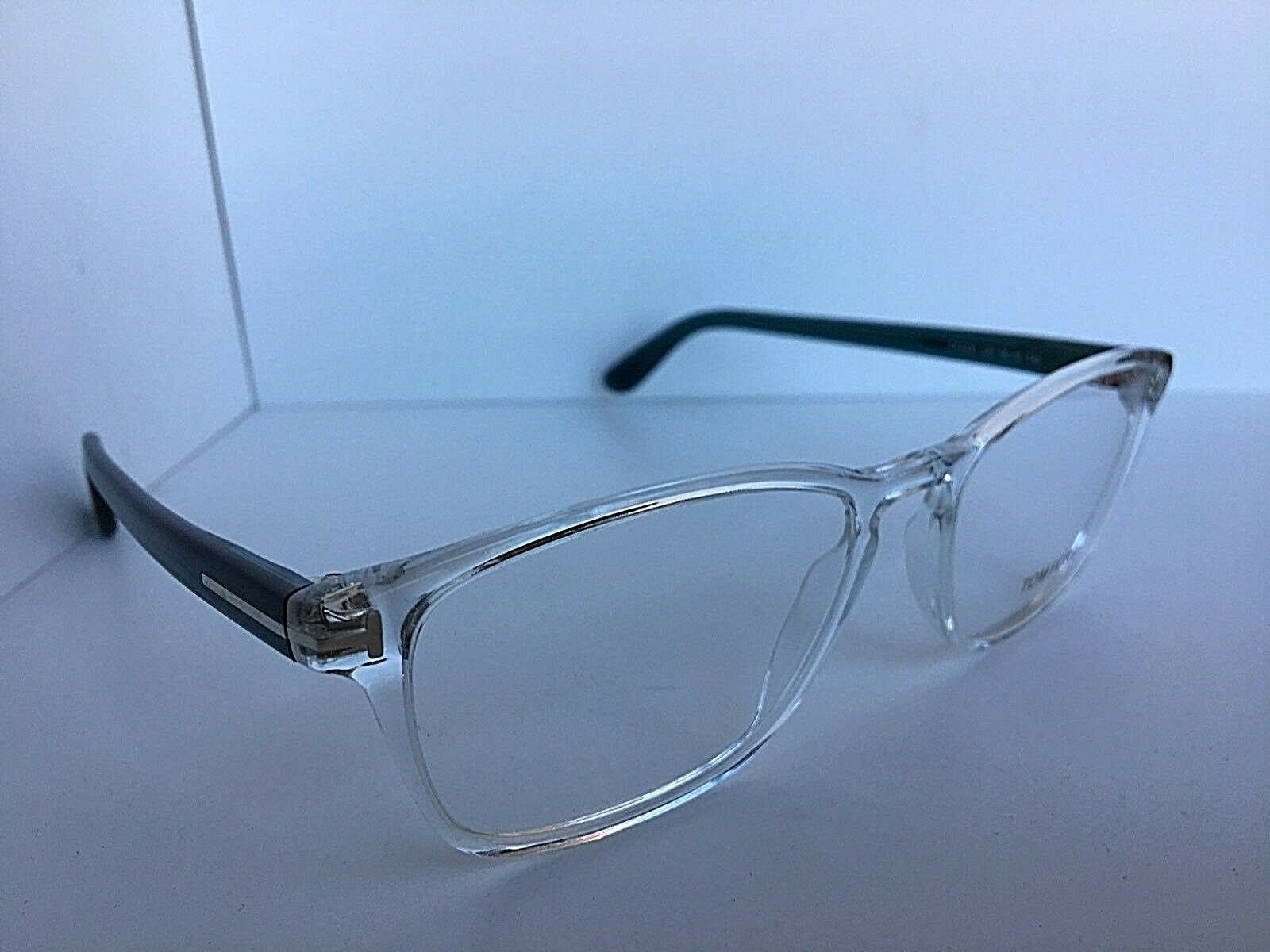 New Tom Ford TF 5355 TF5355 026 56mm Clear Eyeglasses Frame Italy