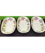 Set Of 3 Noritake 6730 Cookin Serve Marguerite Oval Serving Bowls Collectibles  - $70.13