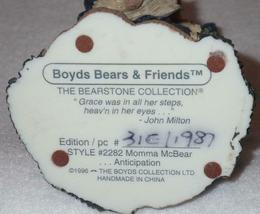 Boyd Bearstone Resin Bears Momma McBear Anticipation Figurine #2282 31E image 4