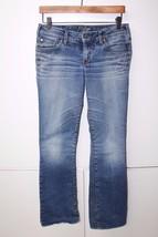 W11451 Womens SILVER JEANS Blue BOOTCUT Denim JEANS 28x33 - $15.45