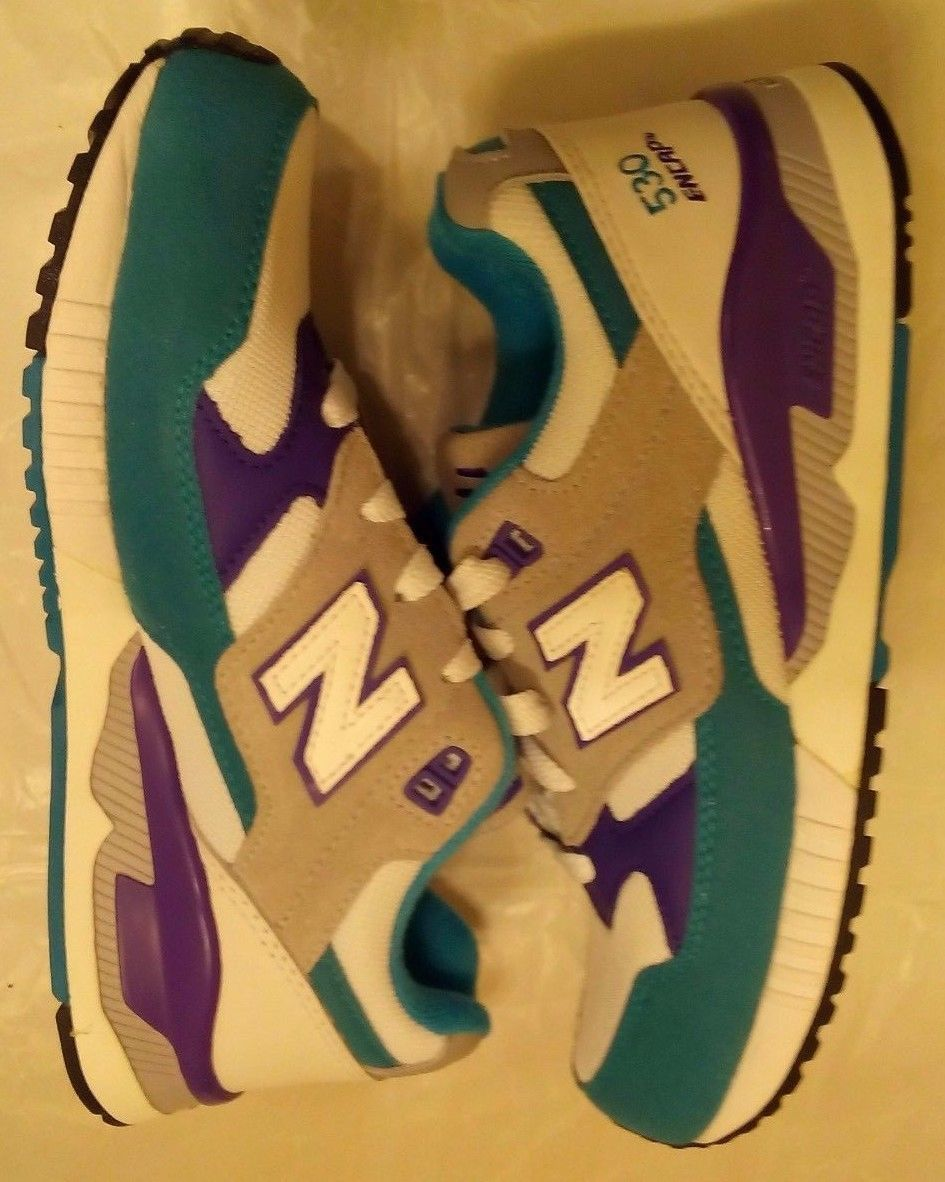 Primary image for Women's 7.5 New Balance 530 Encap M530AAA Blue Teal/Purple Shoes