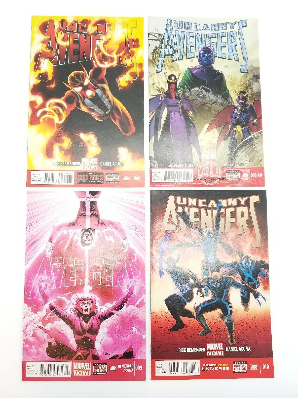 Uncanny Avengers 1-11 14-16 w/ Skottie Young Baby Variant Vol 1 2012 Comic Books image 6